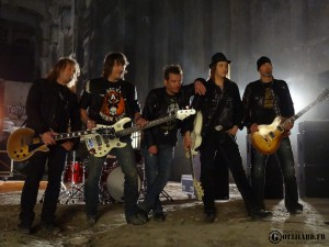 Gotthard - Starlight - Video Shooting In Berlin 15.04  (44)