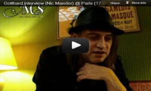 Interview Nic @ Paris