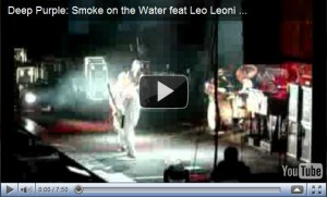 Deep Purple Smoke On The Water avec Leo