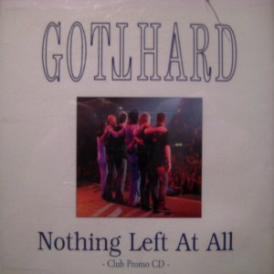 Nothing Left At All (Club Promo CD)